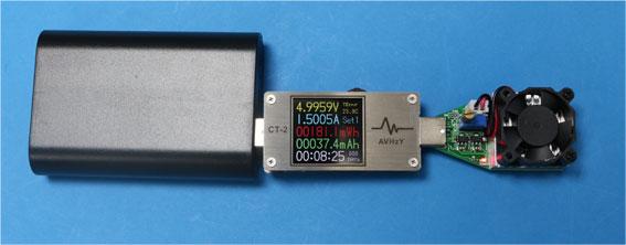 USB電流テスターとUSBロード