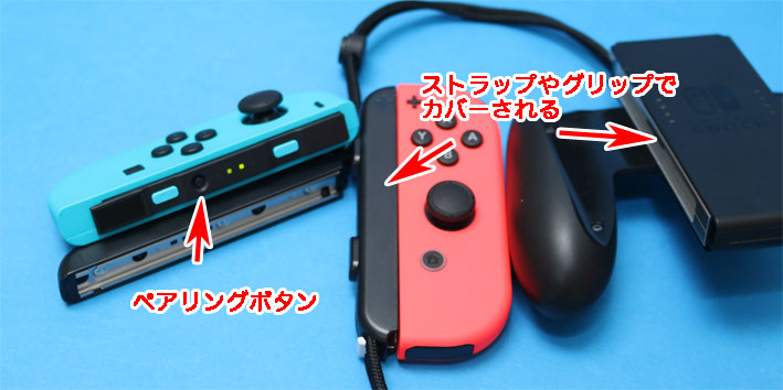 Nintendo SwitchのJoy-Con