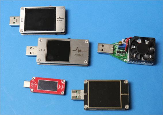 高機能USBテスター
