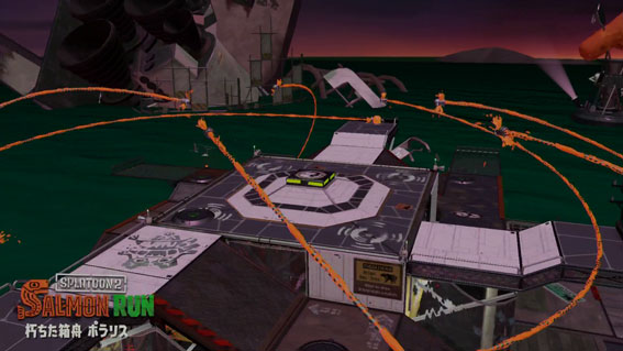 朽ちた箱船ポラリスは、スペースシャトルの残骸がある