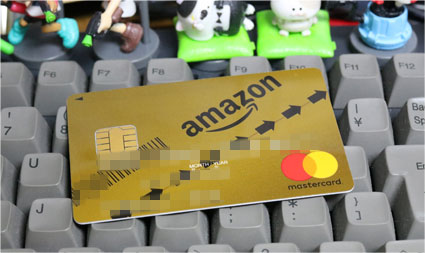 Amazon Mastercard GOLD card
