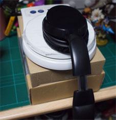 ヘッドホンの側圧を測る方法
