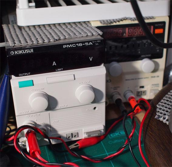 直流電源、菊水 PCM18-5A、テクシオ
