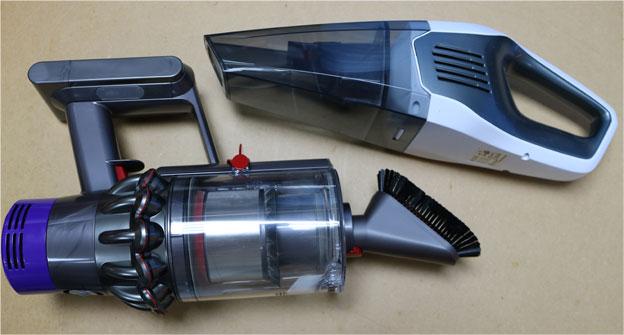 V10と中華のハンディ掃除機