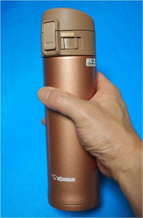 SM-KC48-NMは、少し長めの18.5cm