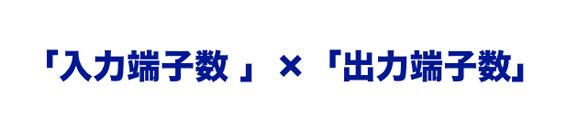 HDMIセレクター、スプリッター ○× ○の意味