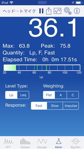 Meter 騒音計