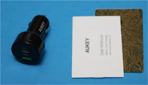 AUKEY-USBチャージャー