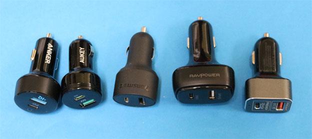 USBカーチャージャーPD対応