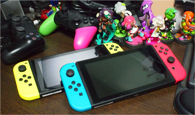 Nintendo Switchとamiiboなど