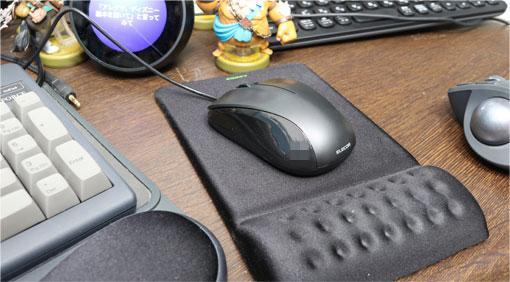 M-S2ULBK/RSとマウスパッド