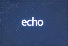 Echo Show のロゴがでる