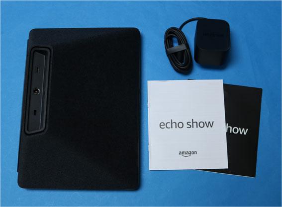 Echo Show 同梱物