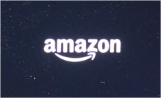 Echo Show 起動のAmazonのロゴ