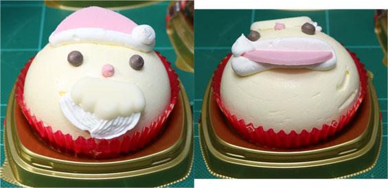 サンタさんケーキ バニラ&いちごクリーム