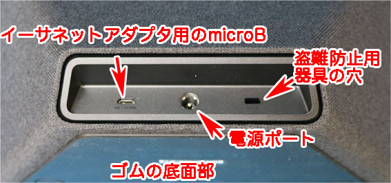 Echo Show 背面下部のポート.jpg