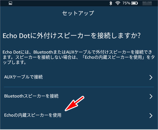 Echo Dotに外付けスピーカーを接続しますか?