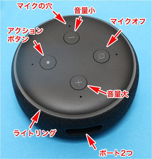 Echo Dot 各種名称