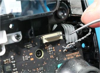 Proコンのフリップロックタイプコネクタ