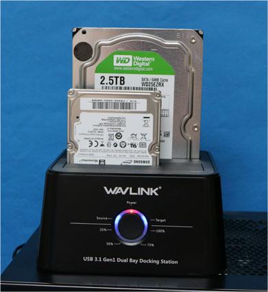 WAVLINK HDDドッキングステーション