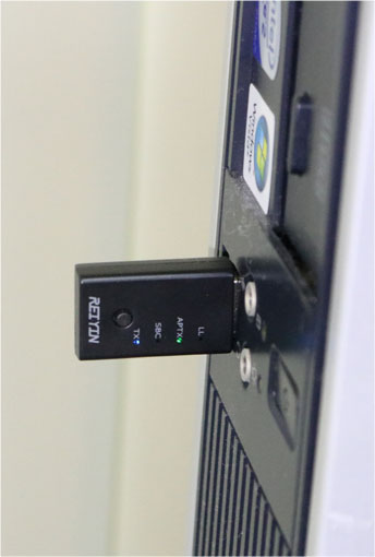 WT-04をWindows 10のパソコンにつなぐ