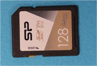 シリコンパワー SDXCカード SP128GBSDXJA2V10