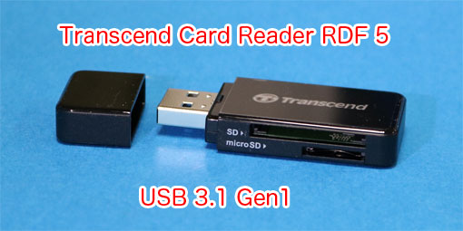 Transcend RDF5 SD Card Reader