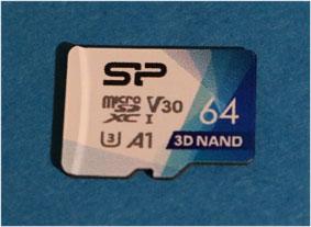 シリコンパワー microSDカード 2019年モデル