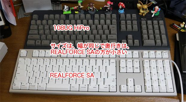 108UG HiProとREALFORCE SA