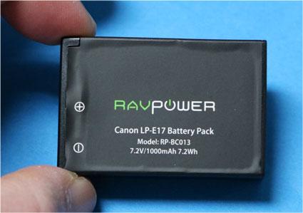 LP-E17互換バッテリー