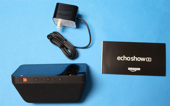 Echo Show 5 同梱物
