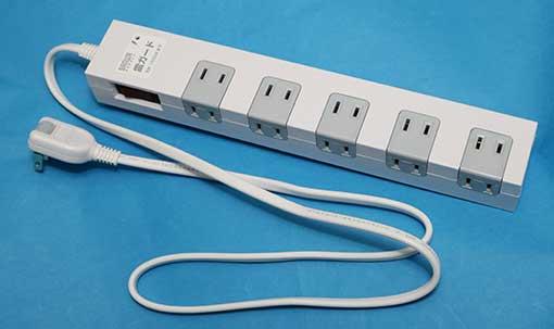 サンワサプライ 電源タップ 10個口  TAP-SP2110-1