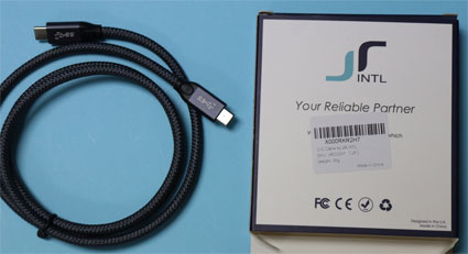 USB-Cケーブル JR INTL