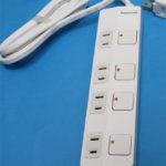 ザ・タップZ(ACアダプター対応)(4コ口)(1m)(ホワイト) WHS25149WP
