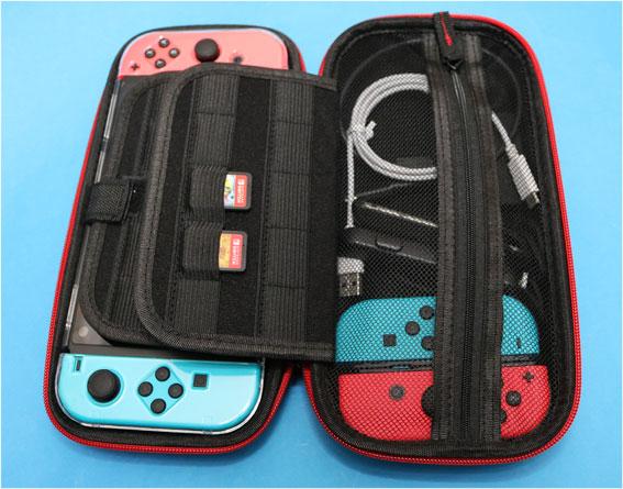 新型Nintendo Switchを収納してみた