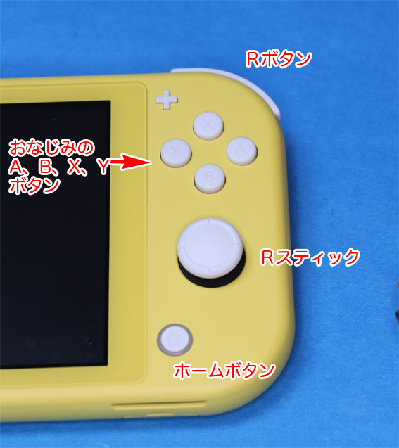 Nintendo Switch Lite 右スティック