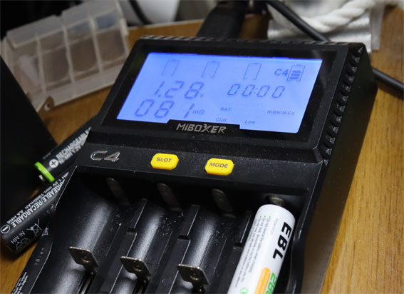 MiBOXER C4 急速充電器
