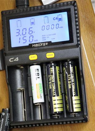 MiBOXER C4 多機能表示急速充電器