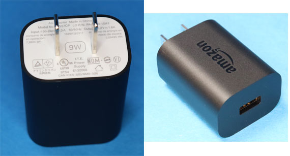 Fire HD 10 付属のACアダプター