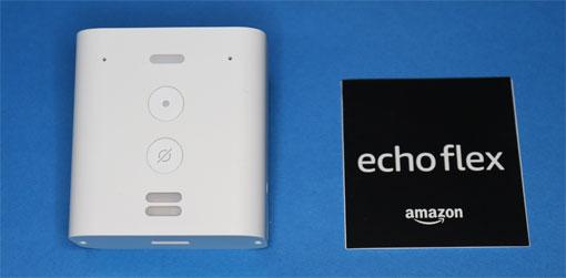 Echo Flex 同梱物 パッケージ内容