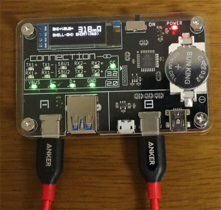Anker USB2.0ケーブル