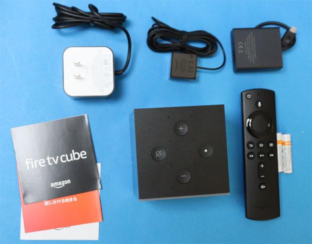 Fire TV Cubeのパッケージ内容