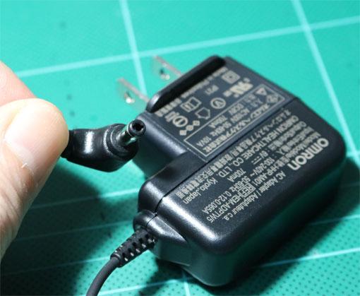 オムロン血圧計用ACアダプター HHP-AM01