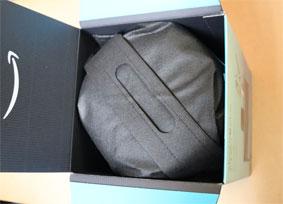 Echo Studioの箱を空けると袋にはいっていた