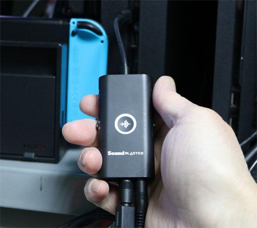 Sound Blaster G3 USB-DAC オーディオアダプター