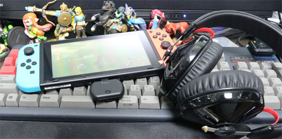 OneOdio A60とBT-TM700とNintendo Switch