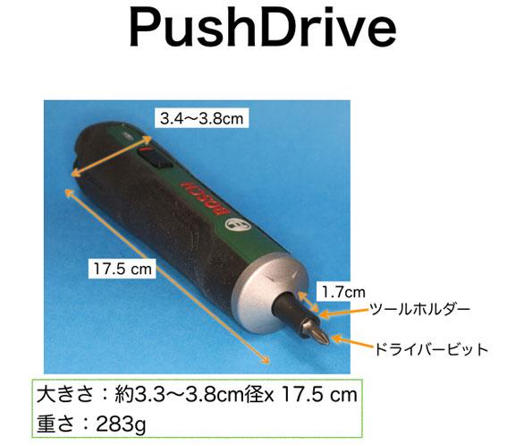 PushDrive 名称 その1