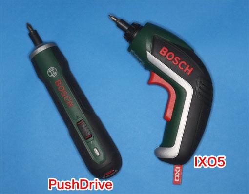 PushDriveとIXO5