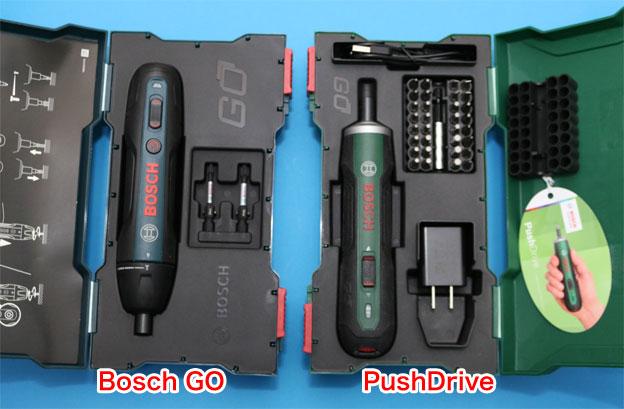 Bosch GOとPush GOのケース内容の違い