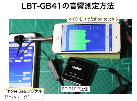 エレコム LBT-GB41 の音響測定
